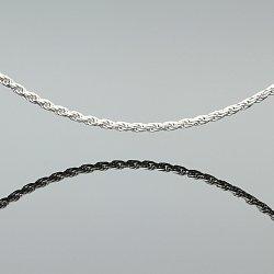 Łańcuszek srebrny kordel