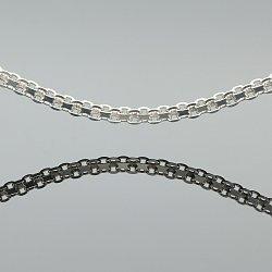 Łańcuszek srebrny bismarck