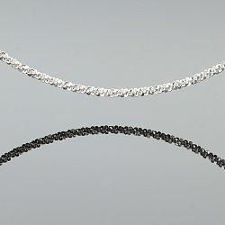 Łańcuszek srebrny fantazyjny