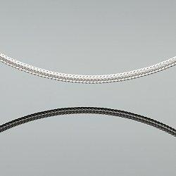 Łańcuszek srebrny lisi ogon