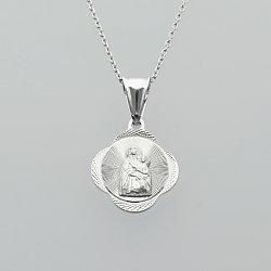 Medalik srebrny