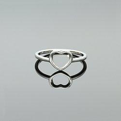 Pierścionek srebrny serce
