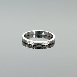Pierścionek srebrny z cyrkoniami