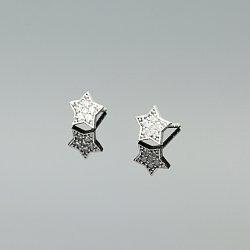 Kolczyki srebrne 41