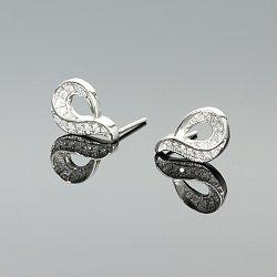 Kolczyki srebrne cyrkonie
