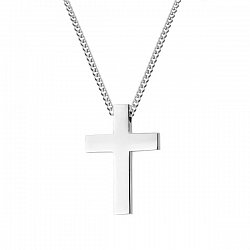 Krzyżyk stal szlachetna