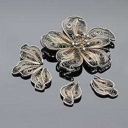 Brosza srebrna filigran