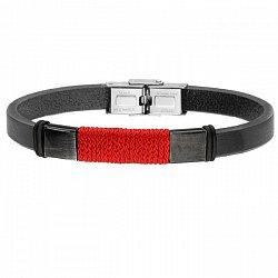Bransoletka z czerwonym sznurkiem