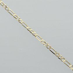 Bransoletka złota figaro
