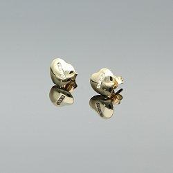 Kolczyki złote z cyrkoniami